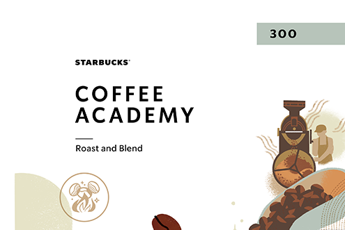 Starbucks Coffee Academy 300: Roast and Blend CA300RB